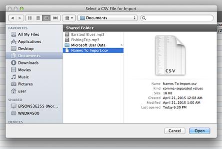 Composer Catalog Help for Mac